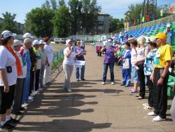 Первый краевой спортивный праздник «Виктория» для пожилых граждан прошёл в Рубцовске