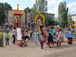 Вчера состоялось открытие детского городка в северной части города