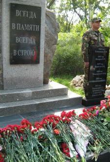 В Рубцовске состоялось открытие памятника погибшим сотрудникам органов внутренних дел