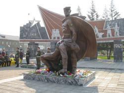 В Рубцовске, в рамках краевой целевой программы отремонтируют памятник на вокзальной площади