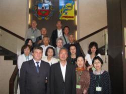 В Рубцовске находится делегация из Японии