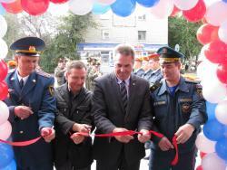 Торжественное открытие нового здания пожарной части в Рубцовске