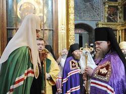 29 сентября Святейший Патриарх Московский и всея Руси Кирилл посвятил архимандрита Романа (Корнева) во епископа Рубцовского