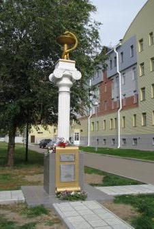 В Рубцовске появился памятник медицинским работникам