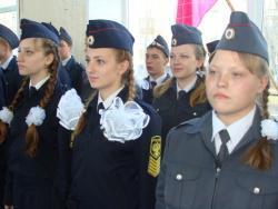 Юные правоохранители Рубцовска приняли присягу