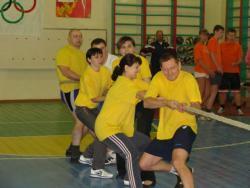 В Рубцовске прошли спортивные соревнования посвящённые предстоящей Олимпиаде в Сочи
