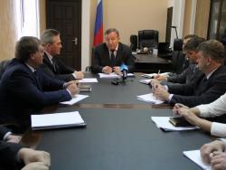 Глава региона Александр Карлин обозначил приоритетные направления в развитии Рубцовска