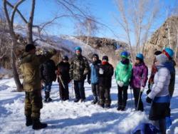Воспитанники станции детского и юношеского туризма приняли участие в походе