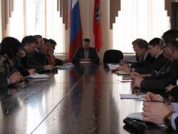 В Администрации Рубцовска прошел Совет по противодействию коррупции
