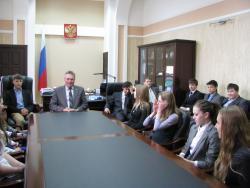 Ученики гимназии №8 побывали на экскурсии в Администрации города