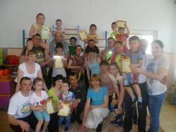 В рубцовском детском саду №49 «Улыбка» провели спортивные состязания «Папа, мама, я – спортивная семья»