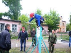 В Рубцовске прошли ежегодные городские соревнования по пожарно-прикладному спорту