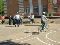 В Рубцовске прошли соревнования «Безопасное колесо»