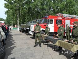Старшеклассники образовательных учреждений Рубцовска приняли участие в ежегодных учебных сборах