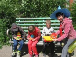 В Рубцовске начата реализация социально значимой программы «Веселый дворик»