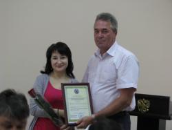 КГБУЗ «Психиатрическая больница г. Рубцовска» вручен сертификат социально ответственного работодателя