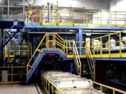 Сегодня в Рубцовском филиале ОАО «Алтайвагон» состоится запуск автоматической формовочной линии по производству мелкого и среднего вагонного литья