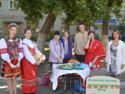 Городская молодежная Палата подарила Рубцовску свое творчество