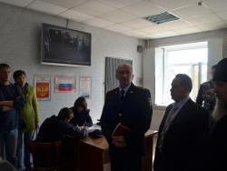 В Рубцовске Общественный совет посетил дежурную часть полиции