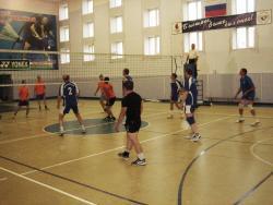 В городе Змеиногорске прошло зональное соревнование VII летней Спартакиады учащихся Алтая по волейболу среди юношей