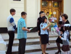 ГИБДД и молодежная Палата - в помощь школьникам