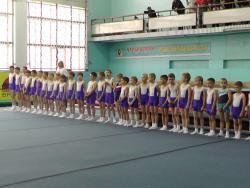 Рубцовские гимнасты готовятся к сезону