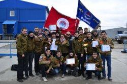 Студенческий строительный отряд «Рубин» Рубцовского индустриального института стал лучшим отрядом Всероссийской студенческой стройки