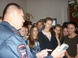 Школьники посетили с экскурсией ГИБДД МО МВД России «Рубцовский»