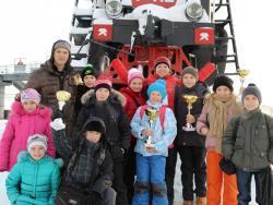 Рубцовчане приняли участие в открытом первенстве «Юный пловец Кузбасса»