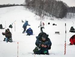 Рубцовчане приняли участие в Чемпионате Алтайского края по ловле рыбы на мормышку