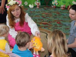 В Рубцовске организованы летние игровые площадки для детей с ограниченными возможностями здоровья