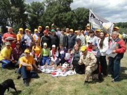 На реке Алей в районе села Локоть прошли Военно-спортивные игры молодежи Алтайского края