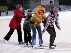 Где в Рубцовске можно покататься на коньках?