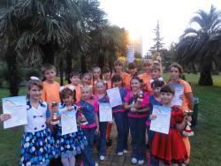 Образцовый вокальный ансамбль «Радоница» ГДК принял участие в ХV Международном фестивале - конкурсе детского и юношеского творчества