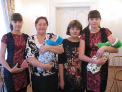 В Рубцовске чествовали многодетную семью
